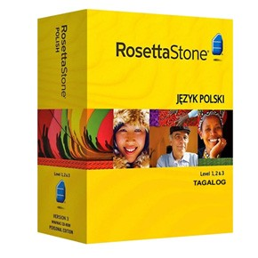 Rosetta Stone Filipino (Tagalog) Level 1, 2, 3 Set Key