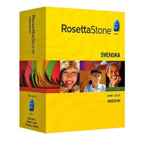 Rosetta Stone Swedish Level 1, 2, 3 Set product key