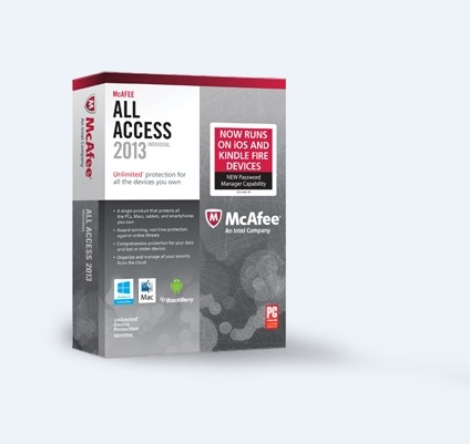 McAfee All Access (1PC-1Year) product key