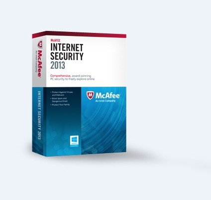 McAfee Internet Security 2013 (3PCs-2Year) product key