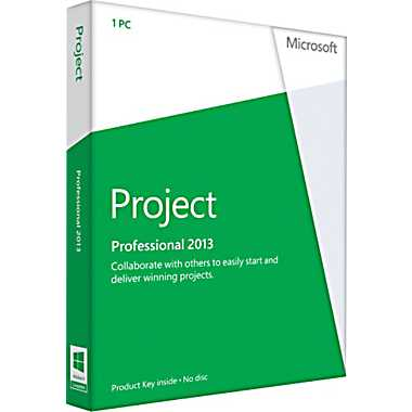 Microsoft Project Professional 2013 product key